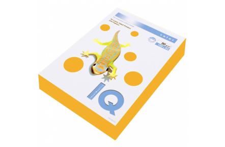 Barevný papír IQ COLOR NEON A4 80g oranžová 500listů