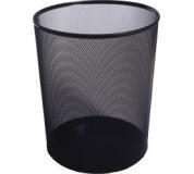 Koš odpadkový drátěný černý