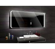 Koupelnové zrcadlo s LED podsvícením 92x72 cm BARCELONA