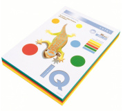 Barevný papír IQ COLOR INTENSIV MIX A4 80g 5x50