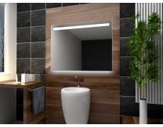 Koupelnové zrcadlo s LED osvětlením 120x70cm V12P