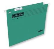 Závesné deky PENDAFLEX STANDARD zelená 25ks
