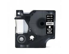 DYMO páska D1 45021 12mm x 7m bílo/černá kompatibilní