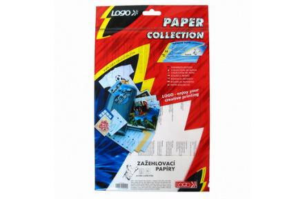 Zažehlovací papír pro bílá trička, L, baleno po 5ks, pro ink. tiskárny