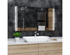 Koupelnové zrcadlo s LED podsvícením 80x60 cm ARICA