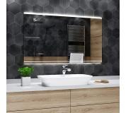 Koupelnové zrcadlo s LED podsvícením 60x90 cm SEOUL