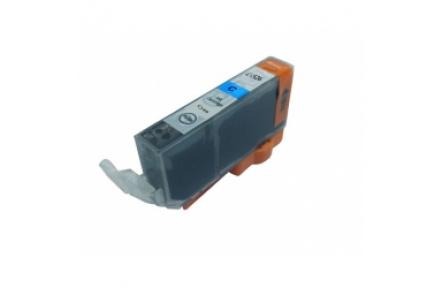 Canon CLI526 C modrá S CHIPEM, 11 ml, kompatibilní kazeta cli 526, cli-526,Canon CLI-526C modrá barva