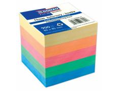 Kostka papírová nelepená barevná, náhradní listy DONAU, 900listů