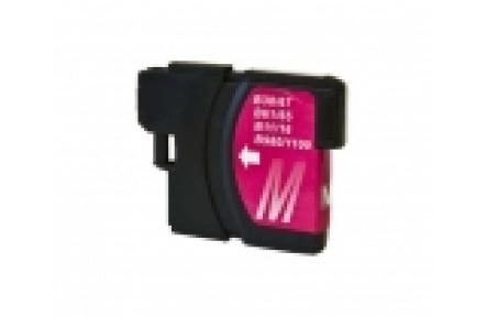 Brother LC1100/LC980 červená 13ml kompatibilní kazeta LC 1100,Print IT LC-980/LC 1100, purpurová