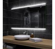 Koupelnové zrcadlo s LED podsvětlením 80x80 cm BRASIL