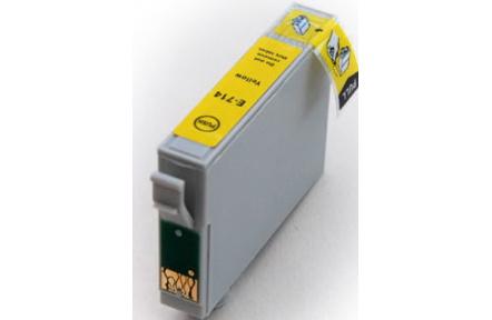 Epson T0714 žlutá 100% NEW kompatibilní inkoustová kazeta NEW CHIP 14ml, T 0714 , T-0714