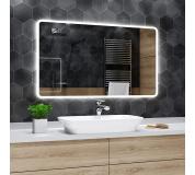 Koupelnové zrcadlo s LED podsvětlením 60x40 cm OSAKA