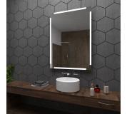 Koupelnové zrcadlo s LED podsvětlením 40x100 cm RYGA