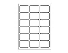 Etikety samolepící 68x47mm 100archů