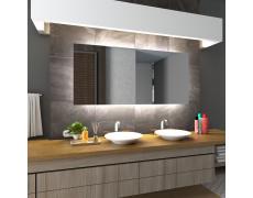 Koupelnové zrcadlo s LED podsvětlením 180x100 cm DUBAI