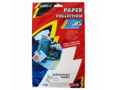 Zažehlovací papír pro tmavá trička, L, baleno po 5ks, pro ink. tiskárny
