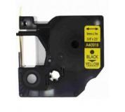 DYMO páska D1 40918 9mm x 7m černo/žlutá kompatibilní páska