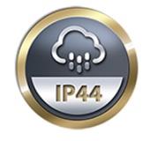 Ochrana proti vlhkosti, krytí IP44 pro zrcadla LED ALAS