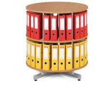Archivační otočná skříň, přídavné patro pro archivační skříň - buk