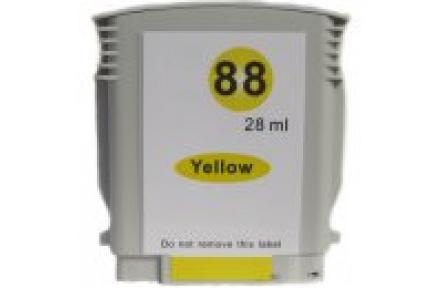 HP C 9393 č. 88XL žlutá 28ml, 100% NEW kompatibilní kazeta C9393 , HP88XL