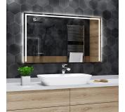 Koupelnové zrcadlo s LED podsvětlením 120x120cm SYDNEY