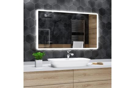 Koupelnové zrcadlo s LED osvětlením 50x100cm BOSTON
