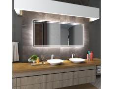 Koupelnové zrcadlo s LED podsvícením 75x100cm WIEDEN