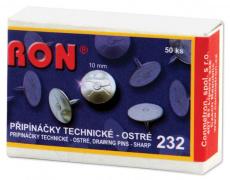 Připínáčky technické RON 232 10mm 50ks