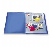 Katalogová kniha 10 listů modrá