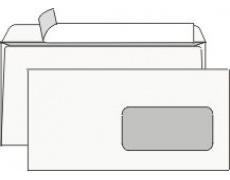 Obálka DL s okénkem samolepící s krycí páskou 1000ks
