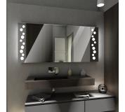 Koupelnové zrcadlo s LED podsvícením 104x90 cm TORONTO