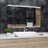 Koupelnové zrcadlo s LED podsvícením 60x40 cm SEOUL