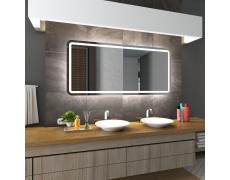 Koupelnové zrcadlo s LED podsvětlením 160x80 cm MADRID