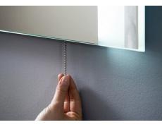 Řetízkový vypínač k LED zrcadlu,  ALAS