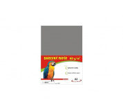 Barevné papíry A3 80g 100ls šedé