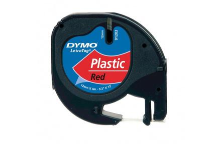 DYMO páska LetraTag 59424 - červená