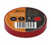 PÁSKA elektro 15mm 10m červená , elektroizolační páska