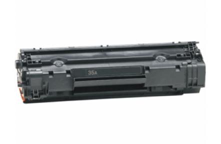 Toner HP CB435A kompatibilní , pro HP LaserJet P1005, P1006, P1007, P1008 black, 35A, 2000s, černý