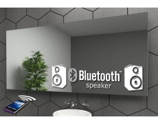 Bluetooth reproduktory k zrcadlu LED