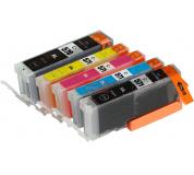Sada Canon CLI571, PGI570, XL Black / Cyan / Magenta / Yellow + PGI570 XL Black MULTIPACK ,1x23ml+4x12ml