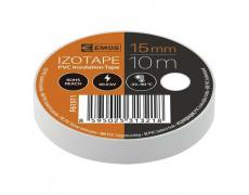 PÁSKA elektro 15mm 10m bílá , elektroizolační páska