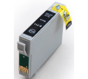 Epson T0711 černá 4ks v balení 100% NEW kompatibilní inkoustová kazeta KAPRINT NEW CHIP 14ml, T 0711