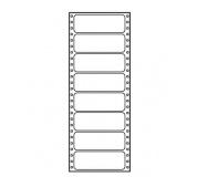 Tabelační etikety 102x36mm jednořadé