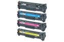 Kompatibilní toner HP CC532 A žlutá ,2800stran CC532A, CC 532,Canon CRG718 , CRG 718,