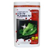Čisticí trhací ubrousky, na LCD TV, plasma TV, domácí kino, dóza, 50ks, L