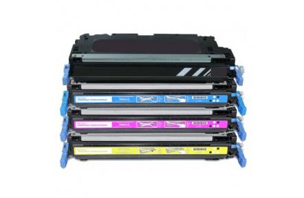 Toner Canon CRG-711B černý, kompatibilní HP Q6470,HPQ7580 , 6000stran CRG711