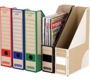 Pořadač na časopisy EMBA 305x230x75mm zelený