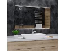 Koupelnové zrcadlo s LED podsvětlením 120x60 cm CHICAGO