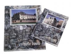 Záznamní kniha šitá A4 100 listů čtverečkovaná