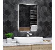 Koupelnové zrcadlo s LED podsvětlením 92x92 cm DUBAI , hranaté